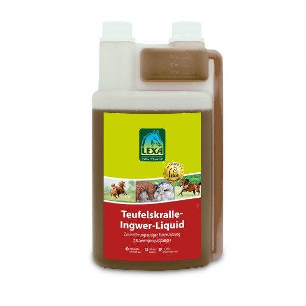 Teufelskralle-Ingwer-Liquid